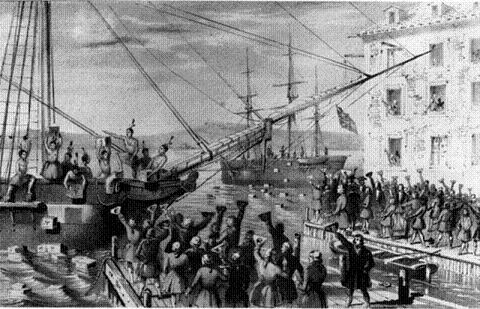 Boston Tea Party - December 16, 1773